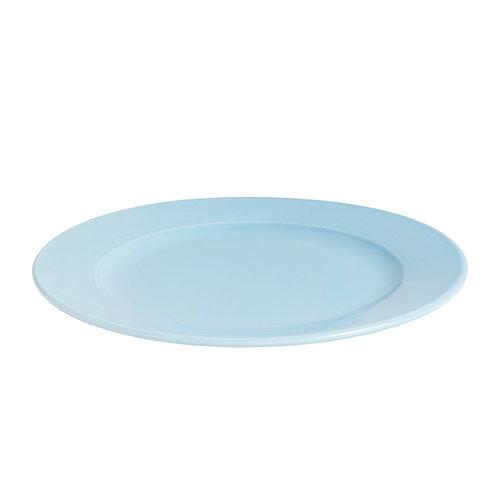 Hay Rainbow plate, medium, light blue