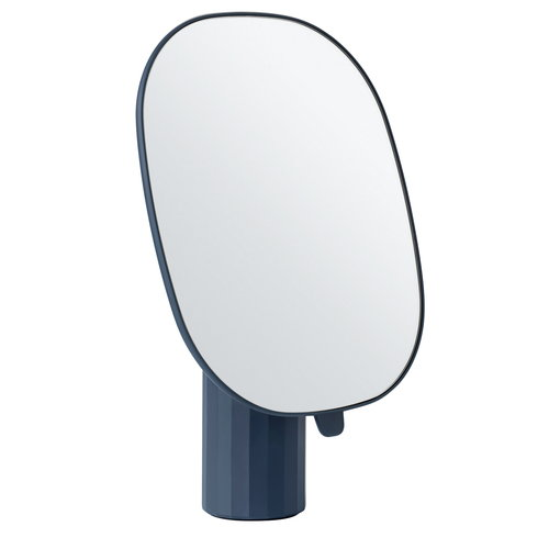 Muuto Mimic mirror, dark blue