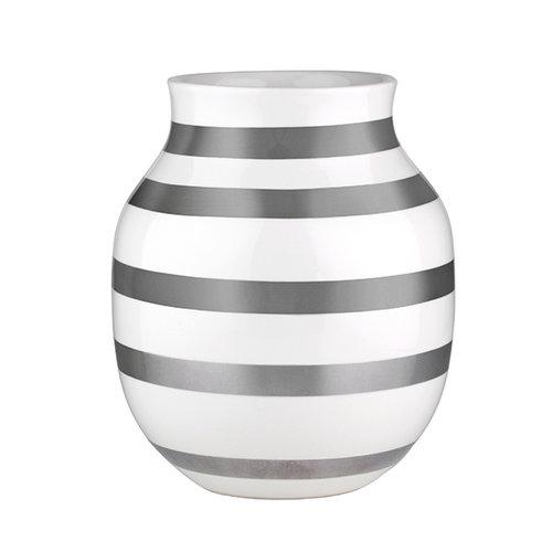 K�hler Omaggio vase, medium, silver