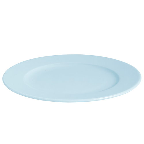 Hay Rainbow plate, large, light blue