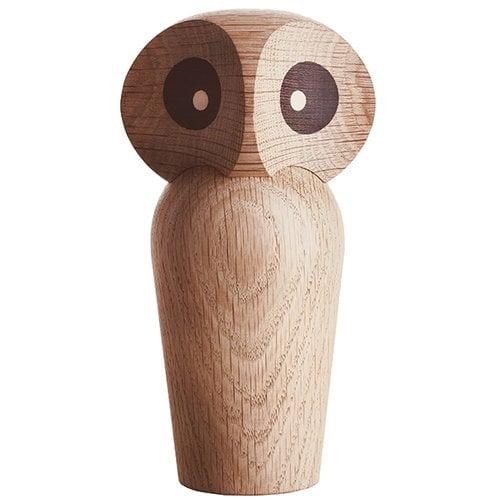 Architectmade Owl, large, natural oak
