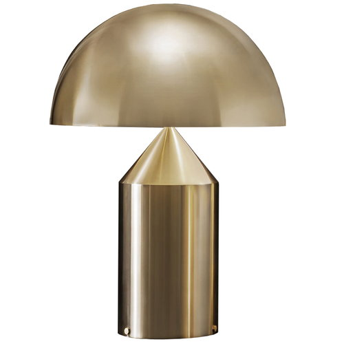 Oluce Atollo 233 table lamp, gold