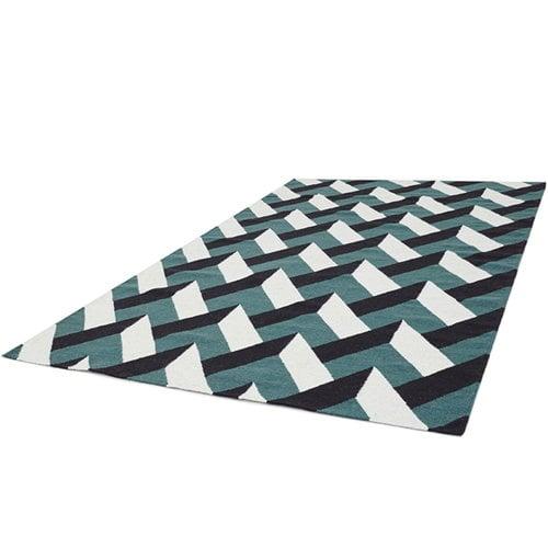 Forme Lato carpet, green