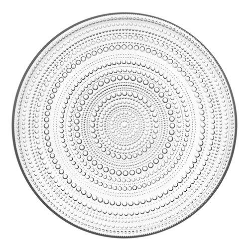 Iittala Kastehelmi plate 315 mm, clear
