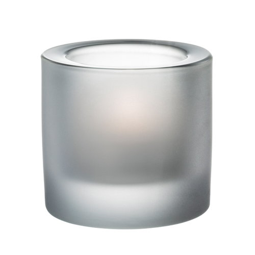 Iittala Kivi votive, matt frosted