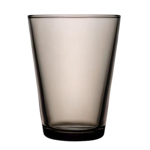 Iittala Kartio juomalasi 40 cl, hiekanv�rinen, 2 kpl