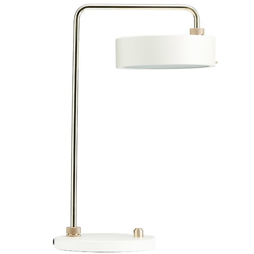 Made By Hand Petite Machine table lamp, off-white