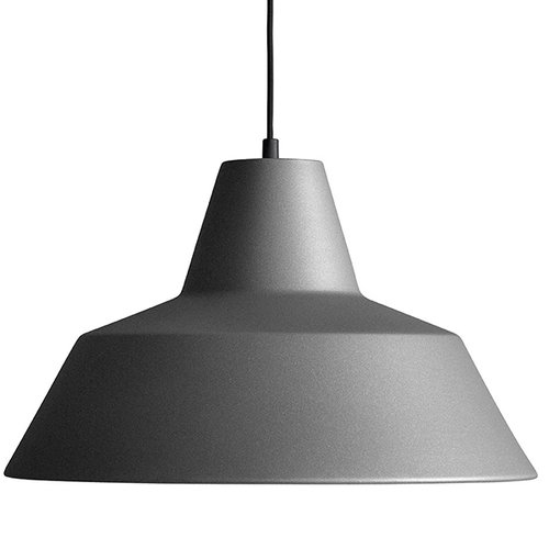 Made By Hand Workshop W4 pendant, anthracite grey