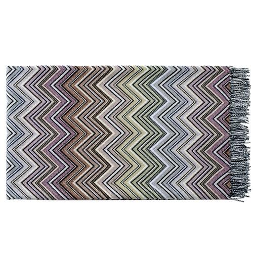 Missoni Home Perseo blanket 130x190 cm, beige