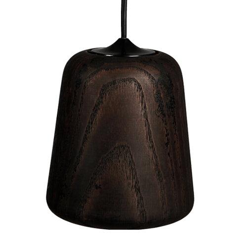 New Works Material lamp, smoked oak