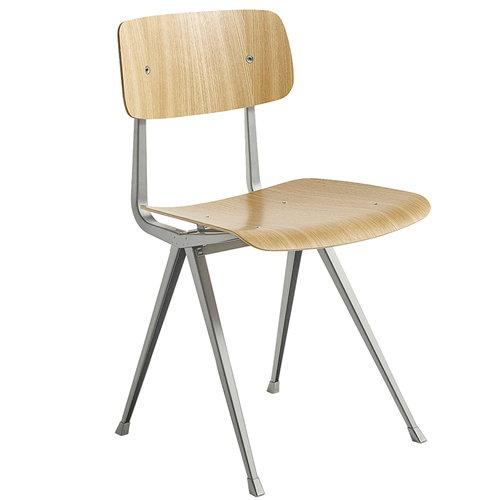 Hay Result tuoli, beige - lakattu tammi