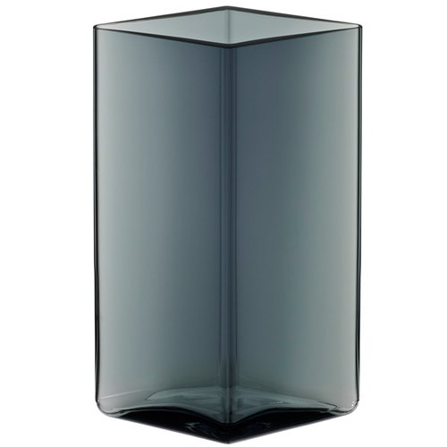 Iittala Ruutu vase, 115 x 180 mm, grey