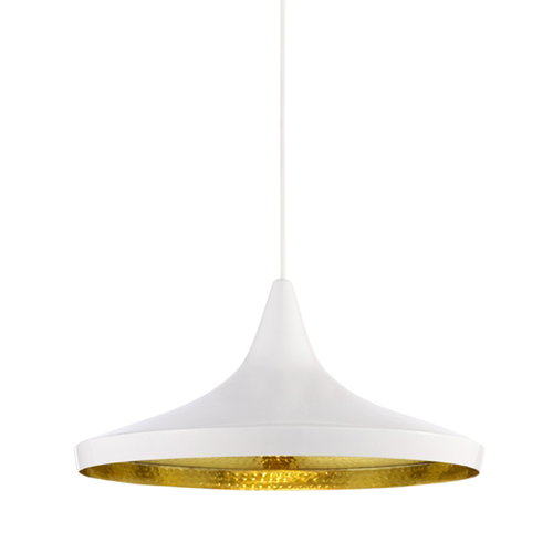 Tom Dixon Beat Light Wide, bianca