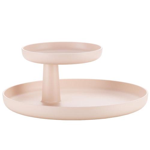 Vitra Rotary tray, pale rose