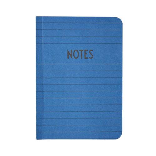 Design Letters Muistikirja A6, sininen