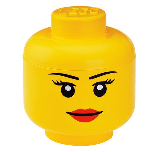 Room Copenhagen Lego Storage Head säilytysrasia, L, Tyttö