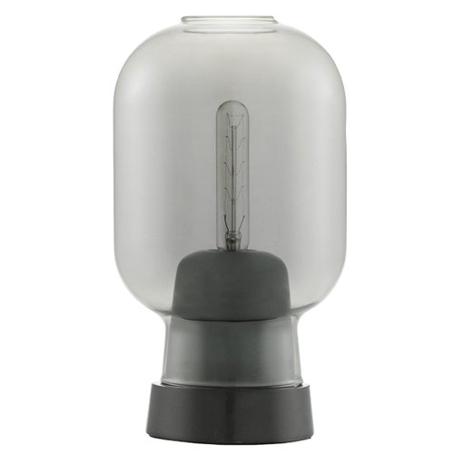 Normann Copenhagen Amp table lamp, grey/black