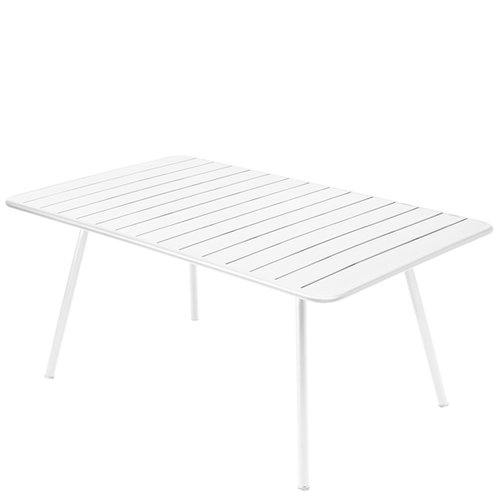 Fermob Luxembourg table, 165 x 100 cm, cotton white