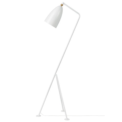 Gubi Gr�shoppa floor lamp, white
