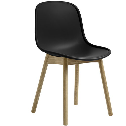 Hay Neu13 chair, black - matt lacquered ash