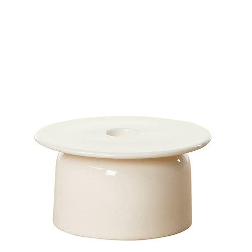 Marimekko Oiva - Loimu candle holder, white