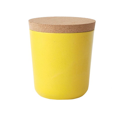 Ekobo BIOBU Gusto storage jar, L, lemon