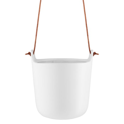 Eva Solo Hanging flowerpot, self watering, chalk white