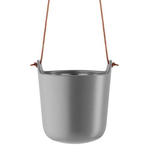 Eva Solo Hanging flowerpot, self watering, Nordic grey
