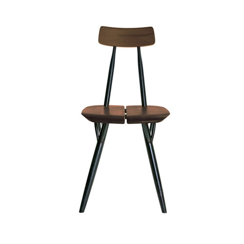 Artek Pirkka chair, brown-black