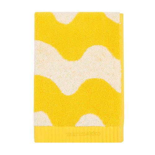 Marimekko Lokki hand towel, white - yellow