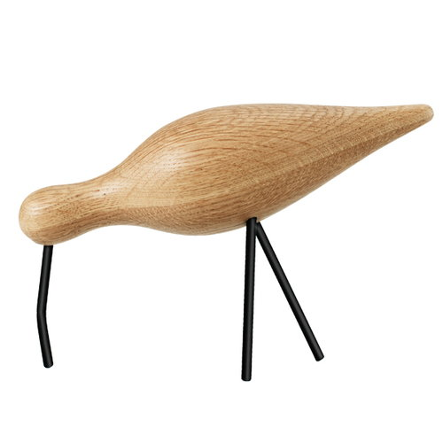 Normann Copenhagen Shorebird, large, black legs