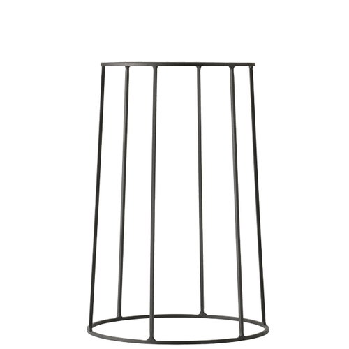 Menu Wire base, medium, black
