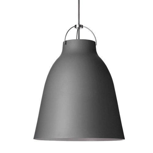 Lightyears Lampada Caravaggio P3, grigio scuro opaco
