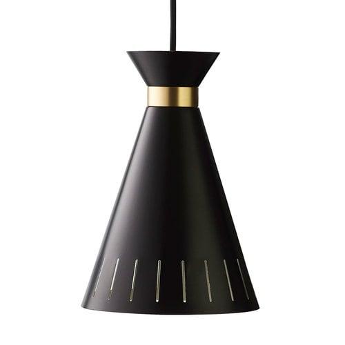 Warm Nordic Cone pendant, black