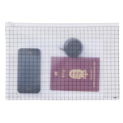 Hay Zip It bags, grid