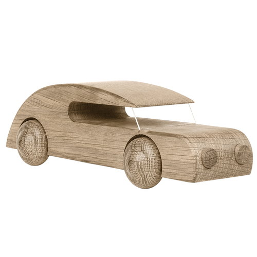 Kay Bojesen Sedan Automobil wooden car, large