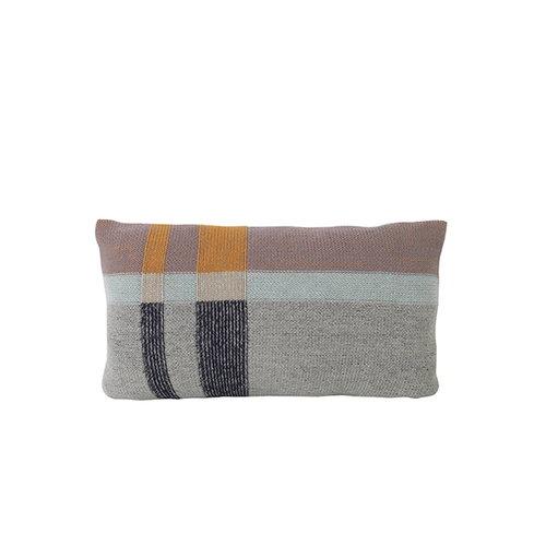 Ferm Living Medley Knit tyyny, pieni, minttu
