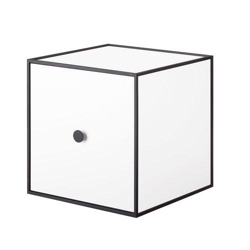 By Lassen Frame 28 laatikko ovella, valkoinen