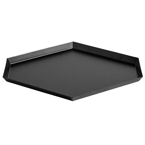 Hay Kaleido tray L, black