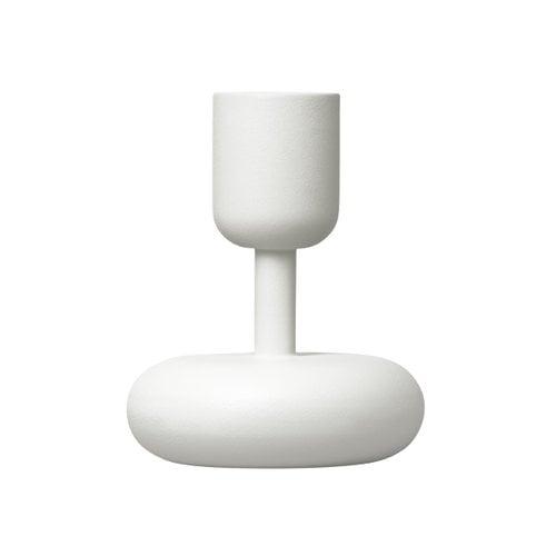 Iittala Nappula kynttil�njalka 107 mm, valkoinen
