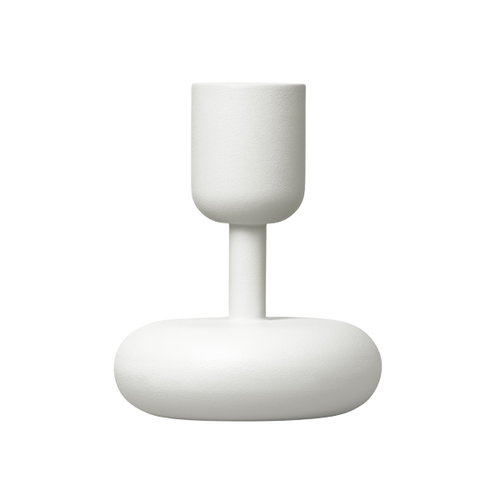 Iittala Nappula candleholder 107 mm, white