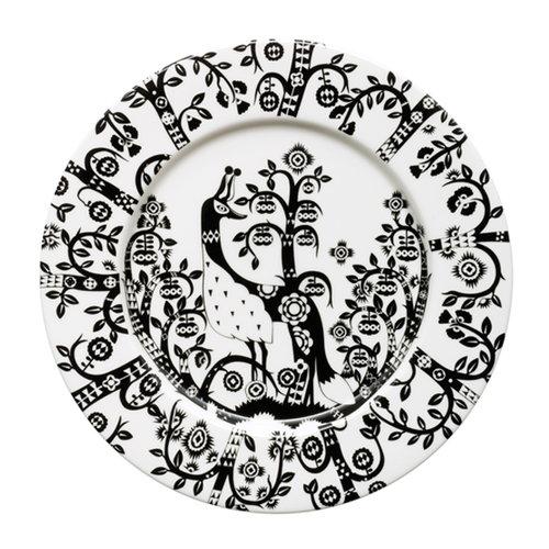 Iittala Taika plate 22 cm, black