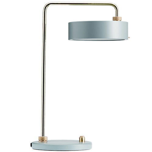 Made By Hand Petite Machine table lamp, grey