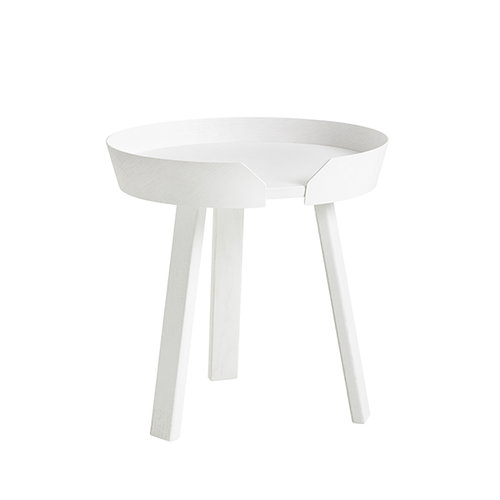 Muuto Around table small, white