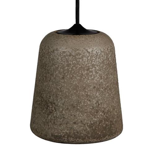 New Works Material lamp, Concrete Dark