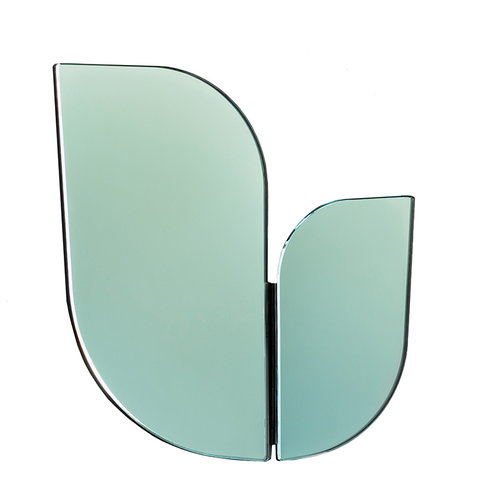 Katriina Nuutinen Perho mirror, small, light green