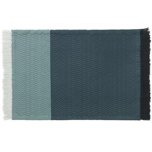 Normann Copenhagen Trace matto, sininen
