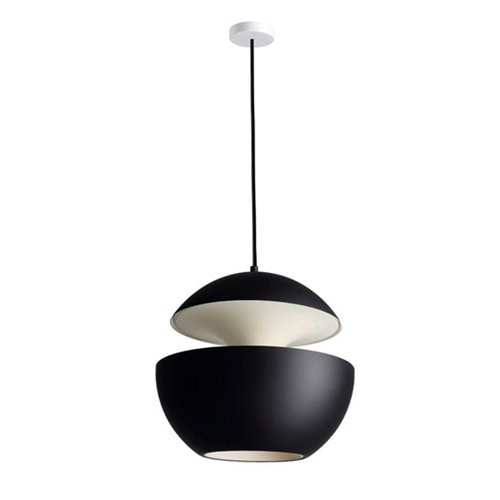 DCW �ditions Here Comes The Sun 450 pendant, black - white