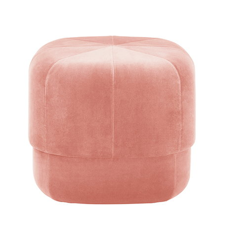 Normann Copenhagen Circus pouf, small, powder