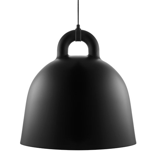 Normann Copenhagen Bell lamp, L, black